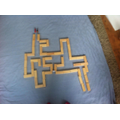 Millie's maze completed Oak Class