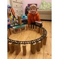 Magnus's magnificent railway