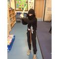 Sam M as Diary of a Sixth Grade Ninja