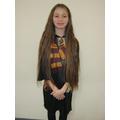 Eva as Hermione Granger