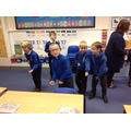 Acting out the Bob story in school