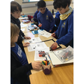 We used Edison robots to explore barcode programming.