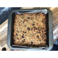 Henry's flapjack looks delicious.