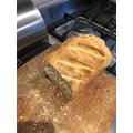 Niamh's homemade bread