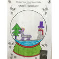Inspired by the story, we designed our own snow globes.