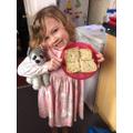 Allie's Sandwich Making