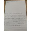 Alfie's fantastic writing