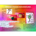 Eleana's musical instrument plan
