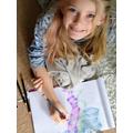 Sophie's art learning!