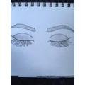 Juliet's fantastic sketches.