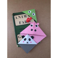 Some pigs are equal! Olly's bookmarks.
