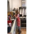 Harriet has been cooking...