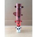 Olly's family totem pole