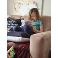 Allie's Morning Reading