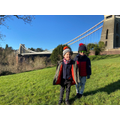 Look who else visited the Suspension bridge- Zachary