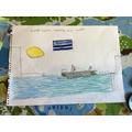 Alfie's fantastic work on Ancient Greece - part 3