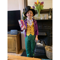 George as Willy Wonka