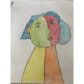 Ruby's drawing inspired by Picasso!