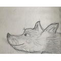 Juan has used careful detail to capture this cheeky  creature!