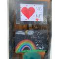 Sophia's window posters :-)