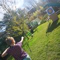 Freya has been working on his archery