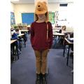 Faye as Winne the Pooh
