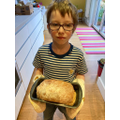 Colum and his loaf of bread