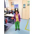Nate as Willy Wonka