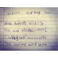 Isabella's awesome weather poem