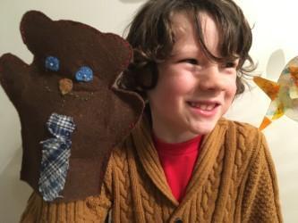Archie's puppet