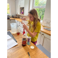 Abi has been doing some great science experiments!
