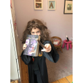 Alice's world book day costume! Hermione of course! superb!