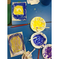 We looked at Van Gogh's 'Starry Night'