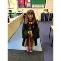 Mia as Hermione