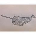 Gaelle's striking Inuit art