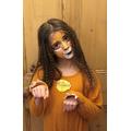 Maya as The Cowardly Lion