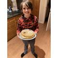 Alfie has been doing some baking!