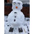 Emmie's snowman