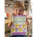 Brilliant maths by Fin G. -Sycamore class