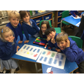 Using the Numicon, we made teen numbers