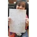 Maryam's super writing