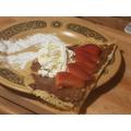 Jago created a delicious looking pancake