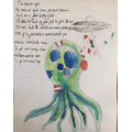 Teddy's brilliant alien poem