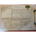 Talia's plan about planting a tree