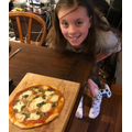 Pizza made by Ava.S