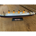 Natty's Titanic model