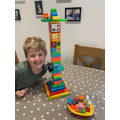 Jake's fab lighthouse-Sycamore Class