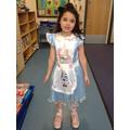 Amelia as Alice in Wonderland