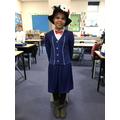 Amelia as Mary Poppins