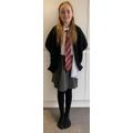 Chloe as Hermione Granger